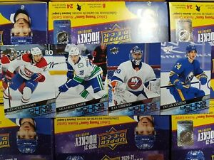 2020-21 Upper Deck (451-501) Young Guns - YOU PICK FROM LIST
