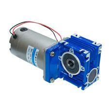 122490v 120 Watt Dc Worm Gear Motor With Nmrv030 Gearbox Speed Reducer