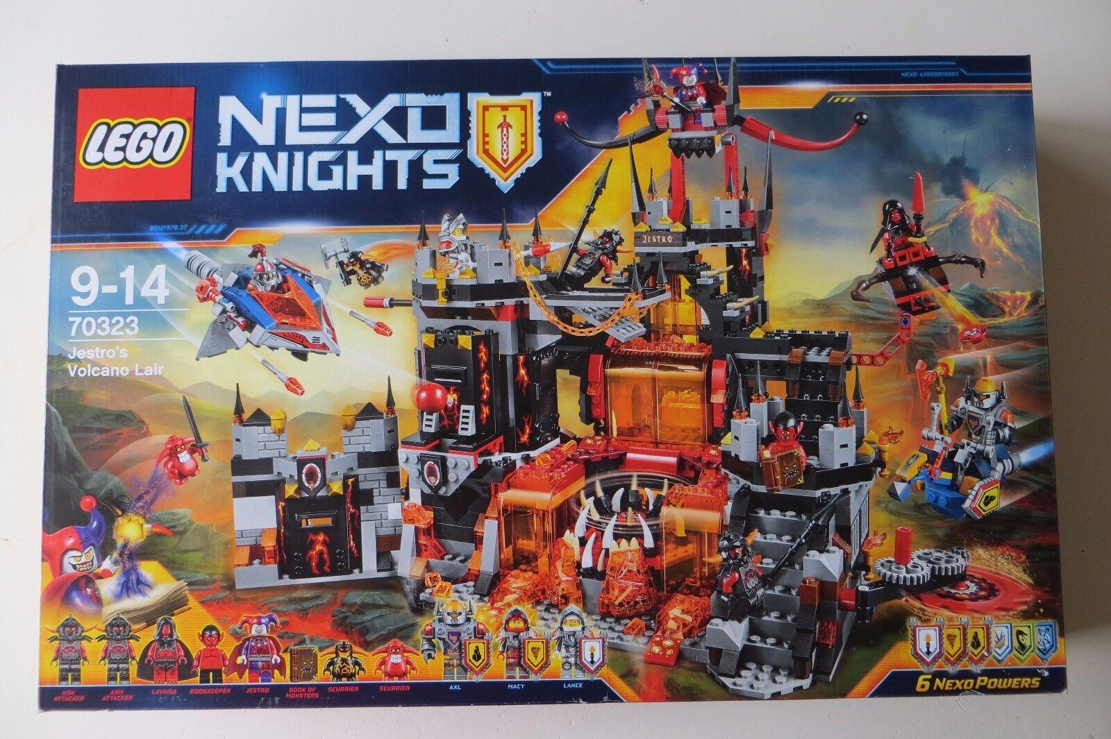 nuovo Sealed LEGO 70323 Nexo  Knights Jestro's Volcano Lair  acquista online oggi