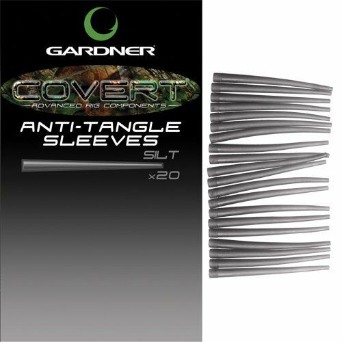 Gardner NEW COVERT Anti Tangle Sleeves Streamliner Carp Rig Tackle Semi Stiff