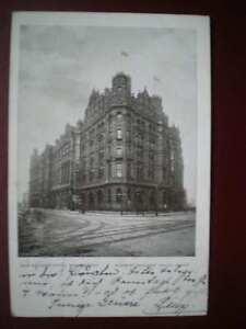 POSTCARD-LANCASHIRE-MANCHESTER-NEW-MIDLAND-HOTEL-1900-039-S