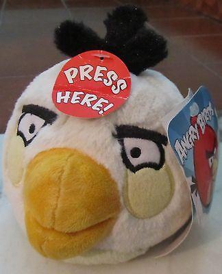 Volitivo Angry Birds Personaggio Bianco Parlante! Grande Originale Rovio