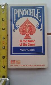 Pinochle is the Name of the Game 1974 By Walter Gibson paperback