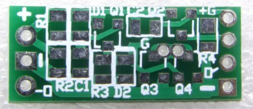 MOSFET OFF Timer Door Switch 12V 5x LED Light Time Delay Volt Level Detect PCB