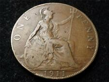 1911 GEORGE V ONE 1 PENNY COIN - JWB COINS & COLLECABLES..