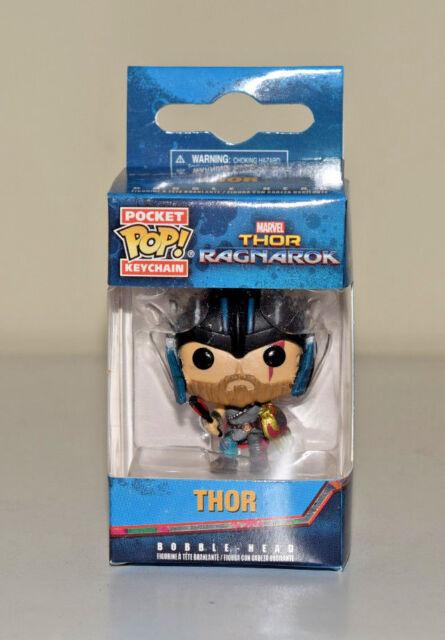 Funko Thor Ragnarok Pop Pocket Keychain Thor w/ Helmet Soft Vinyl Figure - NEW