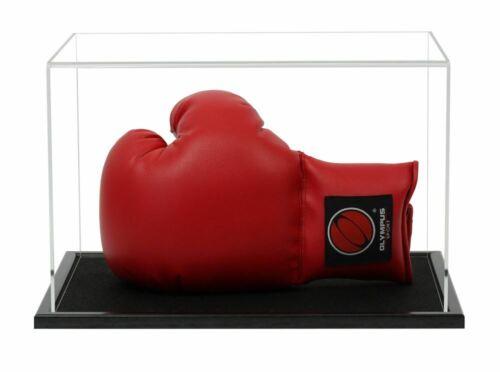 mit einer Auswahl von Basis Stile Boxhandschuh Acryl Vitrine horizontal