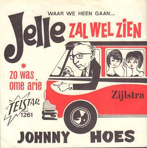 JOHNNY-HOES-Jelle-Zal-Wel-Zien-Yellow-Submarine-1967-VINYL-SINGLE-7-034