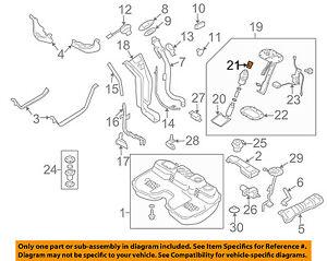 image is loading subaru-oem-05-08-forester-2-5l-h4-