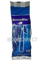 Supermax 3 Packs Of 10 Razor Disposable Twin Blade, Total 30 Razors Shaver