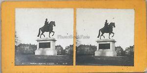 Parigi Soprammobile Henri IV Foto Pl36 Stereo Vintage Analogica c1900