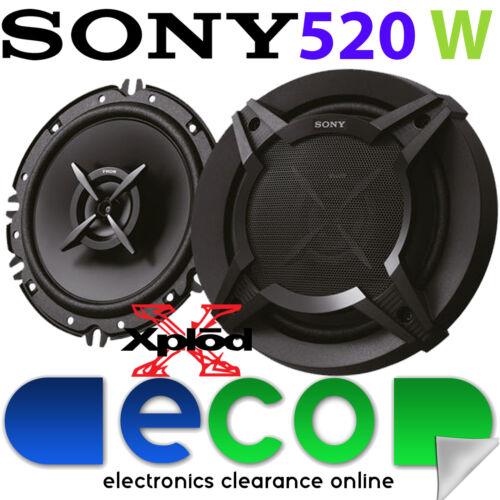 Vauxhall Vectra C 2002-2009 SONY 16cm 520 Watts 2 Way Front Door Car Speakers