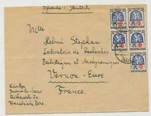 F. Zone Nr. 7 MEF (5) Brief DUDWEILER-VERNON, Frankreich (38842)