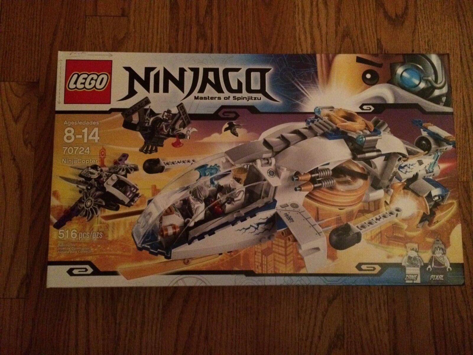 LEGO 70724 NinjaCopter from Ninjago series New in box.