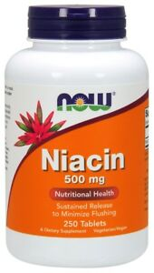 Niacin-500mg-Now-Foods-250-Tabs