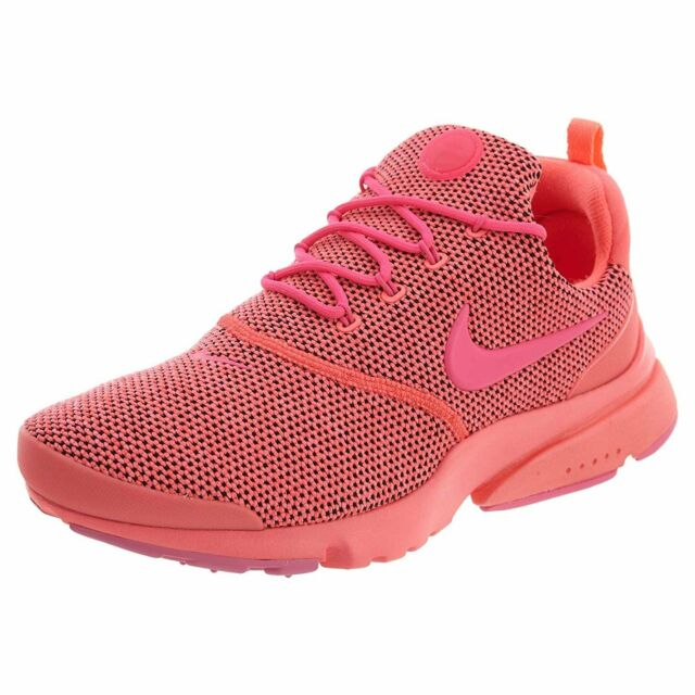 940164df3738 Nike Presto Fly SE Womens 910570-604 Hot Punch Pink Mesh Running Shoes Size  8 for sale online