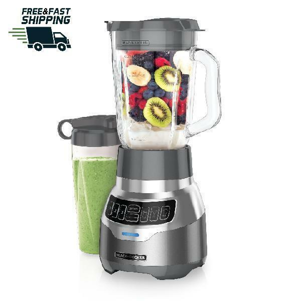 PowerCrush Digital Blender with Quiet Technology Stainless Steel 900W Motor