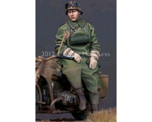 ALPINE MINIATURE MOTOCICLISTA TEDESCO WWII SET.1 Scala 1:35 Cod.AP35142