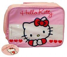 Hello Kitty Sweet Heart Lunch Bag Dinner School Gift
