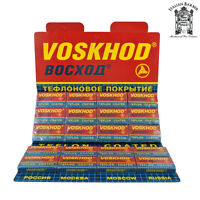 Voskhod Teflon Coated Double Edge (de) Razor Blades - 100 Blade Pack