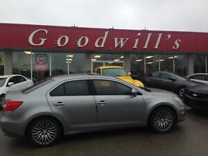 2011 Suzuki Kizashi CLEAN CARFAX! HEATED LEATHER! SUNROOF! BT!