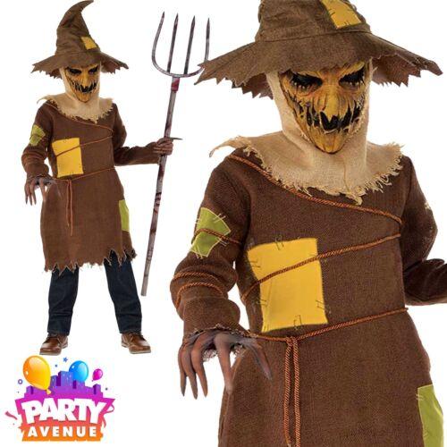 Boy Teen Scary Scarecrow Halloween Fancy Dress