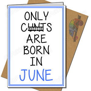 Image Is Loading Only C Ts Are Born In June Funny