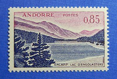 Stamps Diligent 1961 Andorra French 85c Scott# 152 Michel # 173 Unused Cs28208 Andorra