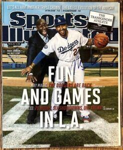 Signed-Matt-Kemp-8x10-Sports-Illustraded-Cover-Pic-Dodgers-All-Star-Guaranteed