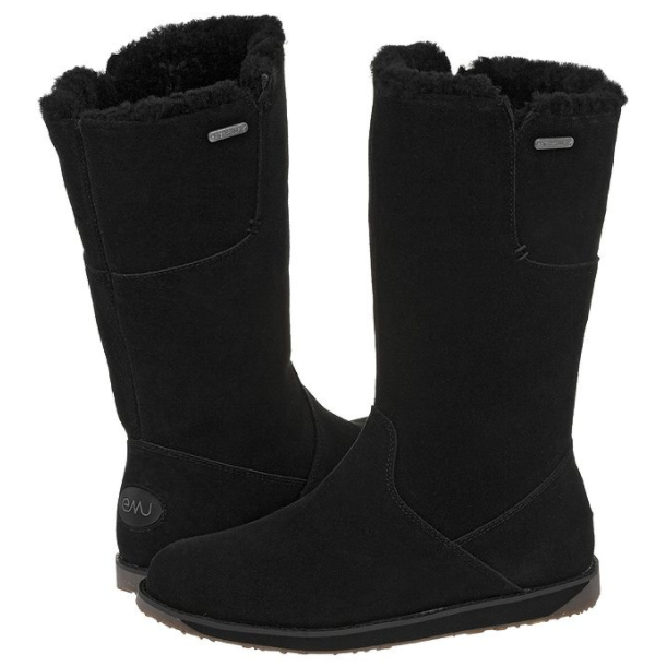 NEW EMU AUSTRALIA W11086 SANDY SANDY W11086 BAY HI WOMEN Stiefel WATERPROOF OAK BLK 9-11 6141aa