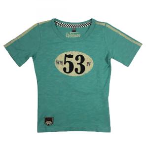 Sports Mem, Cards & Fan Shop Kids' Clothing, Shoes & Accs Warson Motors Kids Birdcage T-shirt Green Harmonious Colors