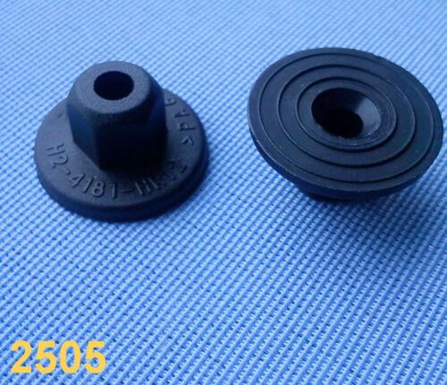 20x Kunststoffmutter Clips Befestigung Klips Halter Clip für Ford schwarz 141C