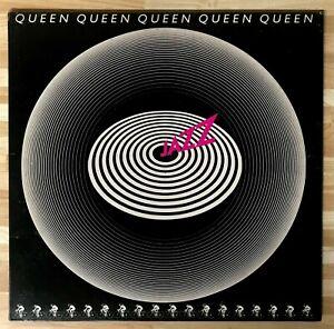 Queen Jazz + Poster Japanese Promo vinyl LP album (LP