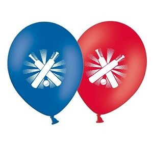 Cricket-12-034-Red-amp-Blue-Assorted-Printed-Latex-Balloons-pack-of-5