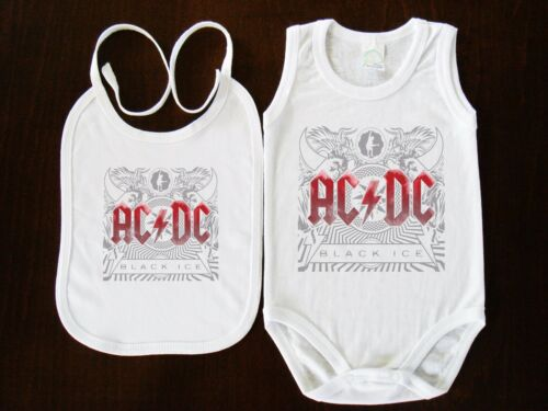 AC DC AC//DC BABY BODY+BIBS FUN,BODYSUIT KURZARM //LANGARM//OHNE ARM VEST