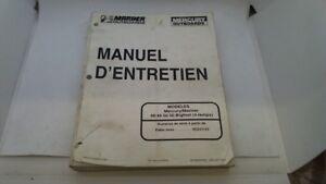 MANUEL TECHNIQUE ATELIER ENTRETIEN MERCURY MARINER 40 45 50 BIGFOOT 1997->