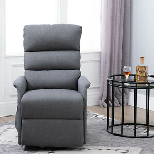 Electric-Power-Lift-Recliner-Chair-Lounge-with-Remote-Control-and-Wheels-Linen