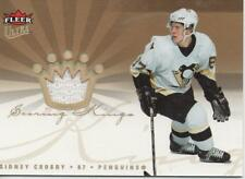 2005-06 FLEER ULTRA - SCORING KINGS - SIDNEY CROSBY ROOKIE JERSEY