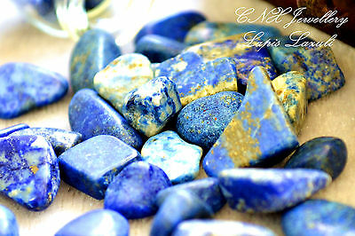 Tumbled Gemstone Lapis Lazuli 5g Chip Stone Birthstone of Libra Sep Oct