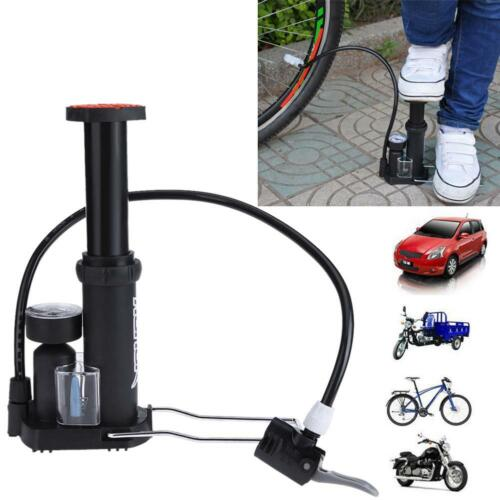 Foot Air Pump Bicycle Bike Tire Tyre Compact Inflator Portable High-pressur Spor