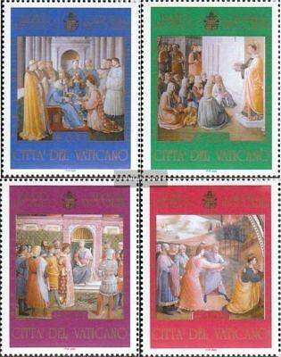 Postfrisch 2003 Kunst Ein Bereicherung Und Ein NäHrstoff FüR Die Leber Und Die Niere kompl.ausg. Hart Arbeitend Vatikanstadt 1454-1457