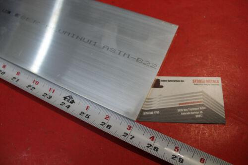 "1//4/"" X 5/"" ALUMINUM 6061 FLAT BAR 27/"" long New Plate T6511 Mill Stock .25/""x 5.0/"""