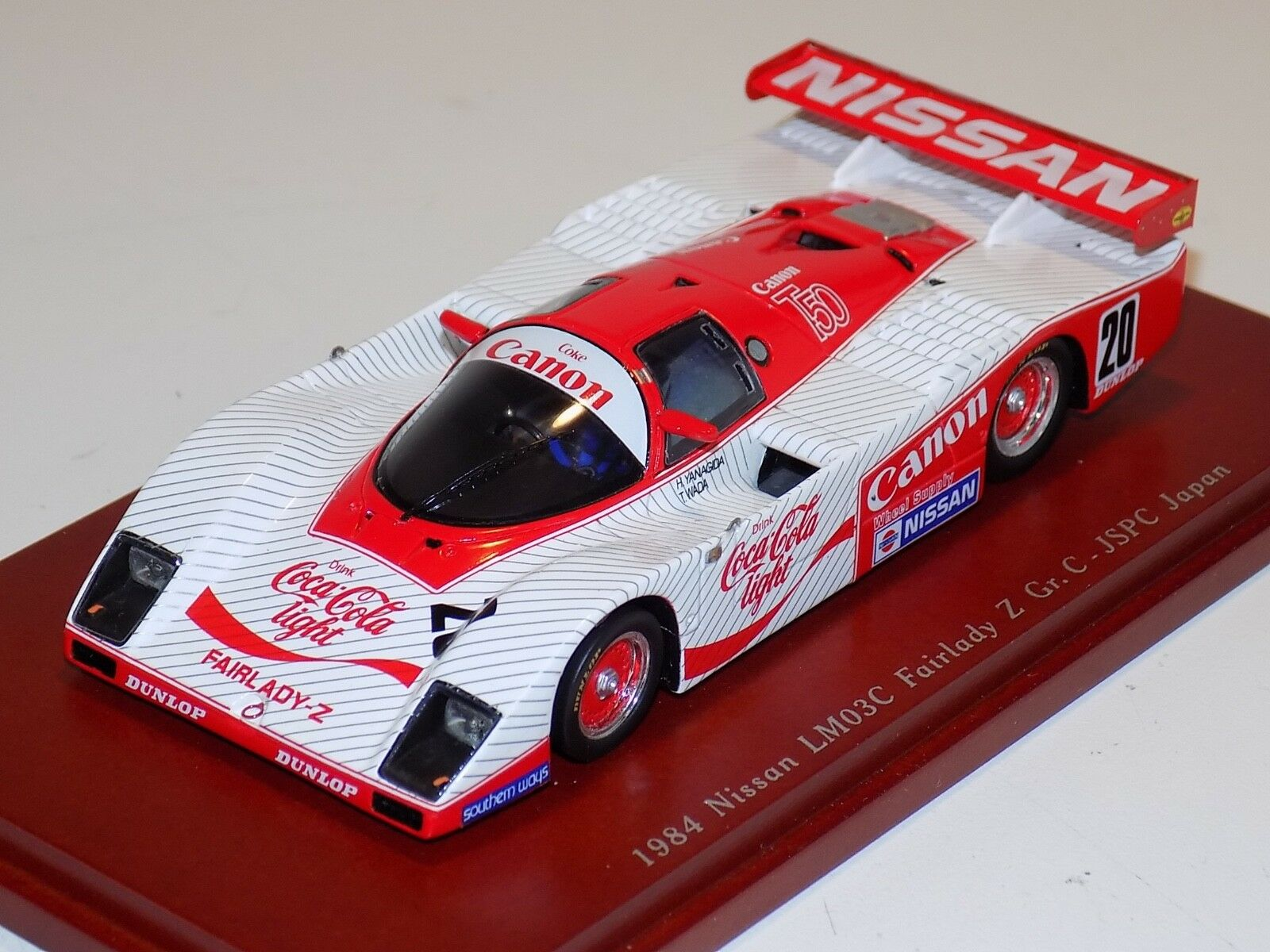 1 43 True Scale Models TSM Nissan LM03C Fairlady WEC Japan TSM104317