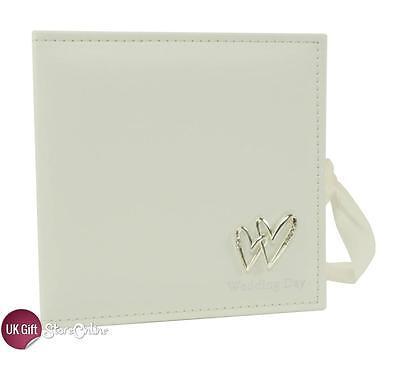 Wedding Day CD/DVD Photo Picture Album Display Case Luxury Keepsake 9808299
