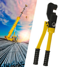 8 Ton Hydraulic Rebar Cutter Steel Bolt Chain Cutting Tool 4mm To 16mm Withbox New