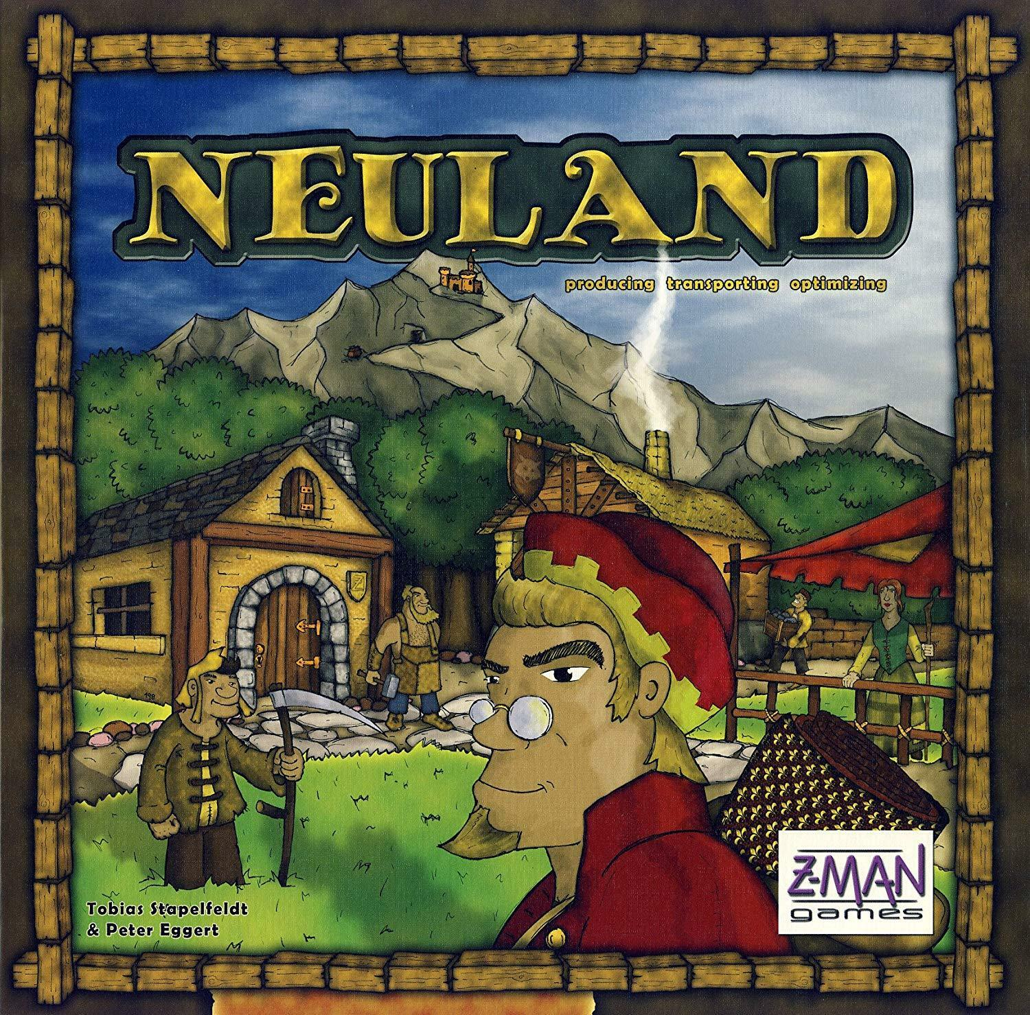 Z-Man Boardgame Neuland NEW SEALED