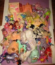 HUGE Vintage 80s 90s Toy Doll Strawberry Shortcake Jem FSF Moon Dreamers Lot