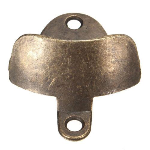 Vintage Kitchen Bar Cast Iron Wall Mount Bottle Open Rustic Beer Opener Bronze