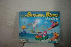 JEU-DE-SOCIETE-BERNARD-ET-BIANCA-WALT-DISNEY-GAMES-VINATE-1977
