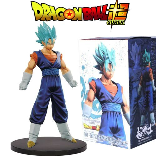 FIGURAS DRAGON BALL SUPER VEGETTO BLUE ACTION FIGURE 23cm 30/% REBAJADO NUEVO.
